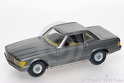 Dark Classic Mercedes toy cars