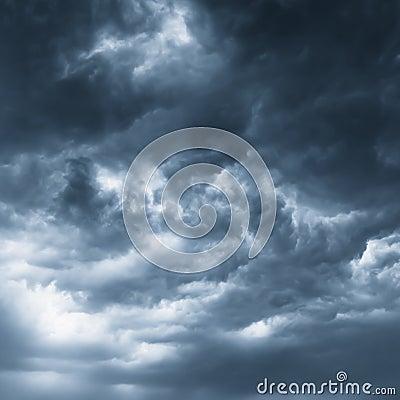 Free Dark Clouds Stock Image - 45856081