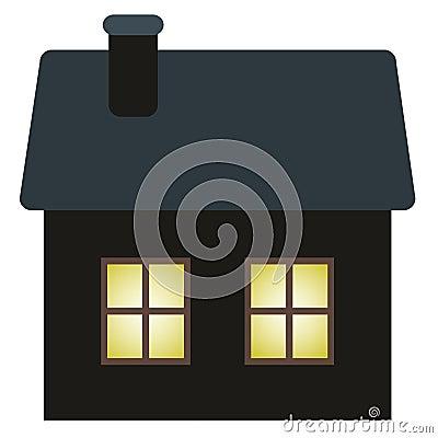 Dark cottage