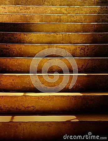 Dark Dirty Grunge Stairs