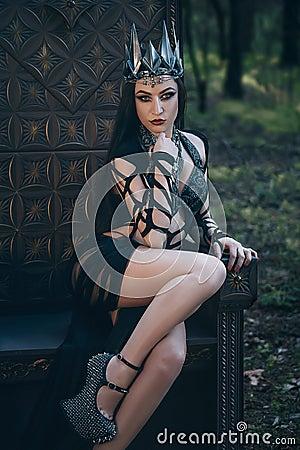 Free Dark Evil Queen Stock Image - 74095181