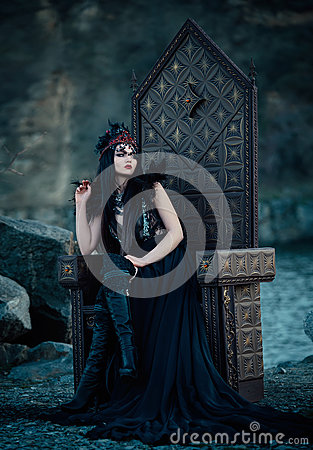 Free Dark Evil Queen Stock Photography - 74247542