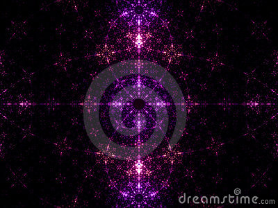 Dark fractal background