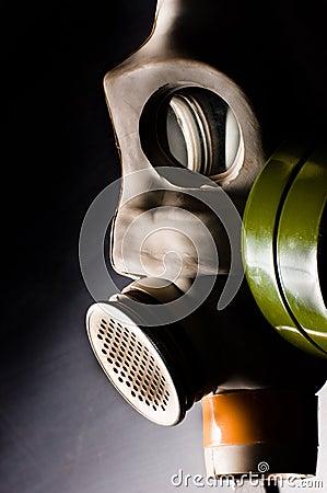 Dark gasmask