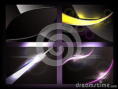 Dark Glow Backgrounds