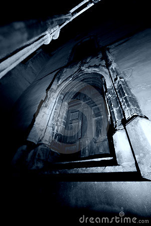 Free Dark Gothic Door Stock Images - 3876494