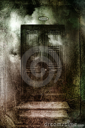 Free Dark Gothic Doors Royalty Free Stock Images - 21762419