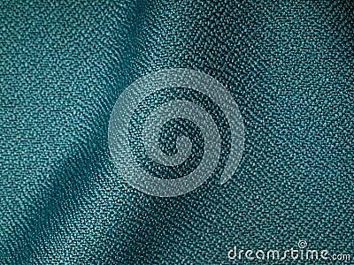 Dark green fabric sample