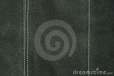 Dark green leather texture as background