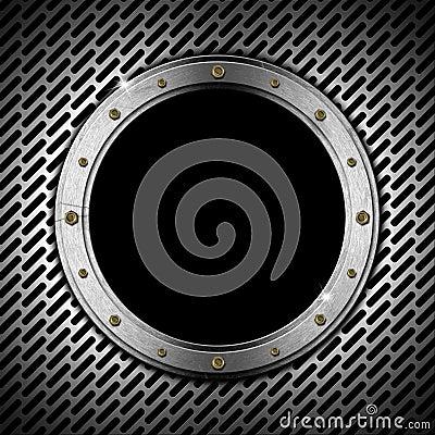 Dark Grunge Metal Porthole Stock Photos - Image: 30757213