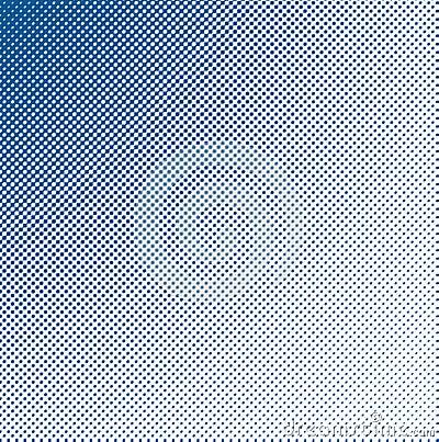 Dark halftone blue