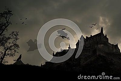 Dark Halloween Place