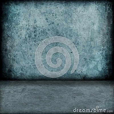 Dark industrial room