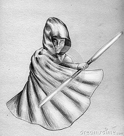 Dark Jedi - sketch