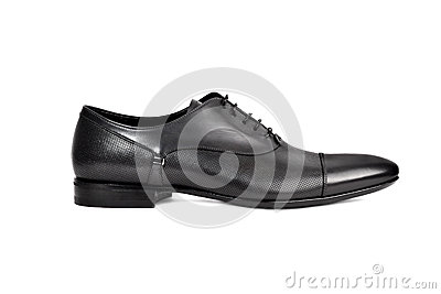 Dark male shoe-11