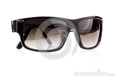 Dark masculine sunglasses