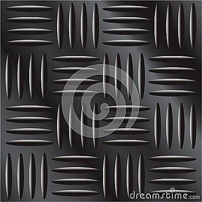 Dark metal diamond hatch background texture