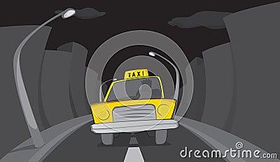 Dark night transportation