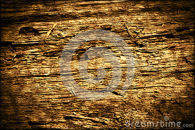 Dark Old Rotten Wood Background Texture