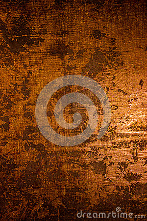 Free Dark Old Scary Rusty Rough Golden And Copper Metal Surface Texture/background For Halloween Or Haunted House Games Background/text Royalty Free Stock Photo - 73947015