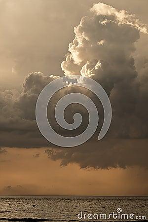 Free Dark Rain Clouds Stock Photography - 17640932