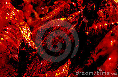 Dark Red Abstract Background