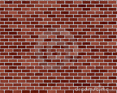 Dark red brick background