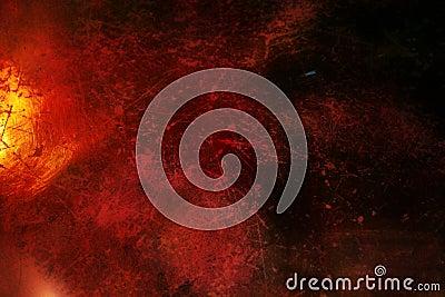 Dark red grunge background  with scratches