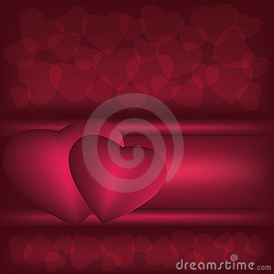 Dark red love background