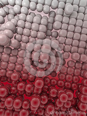 Dark red  pattern buble bubble Background