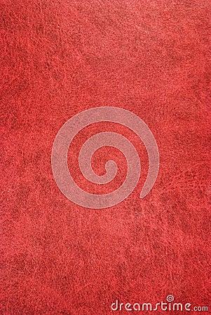 Dark red skin