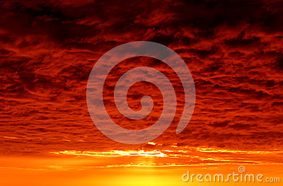 Dark Red Storm Clouds Royalty Free Stock Photo - Image: 30410855