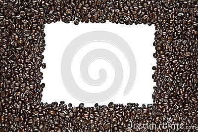 Dark Roast Coffee Bean Frame