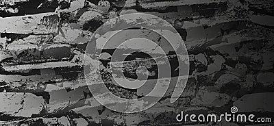 Dark and somber stone stairs