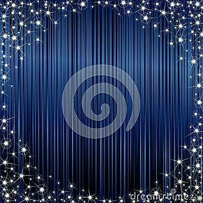Dark sparkly frame