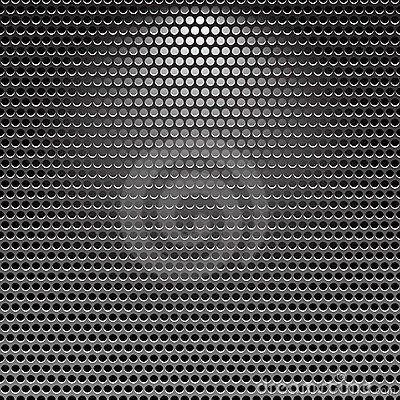 Dark stainless grille metal texture background