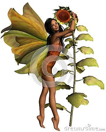 Dark Sunflower Fairy