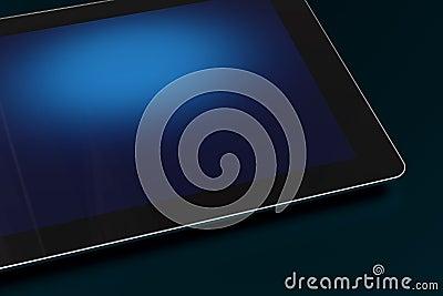 Dark Tablet Closeup