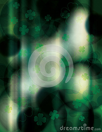 Dark and unique St. Patricks Day background