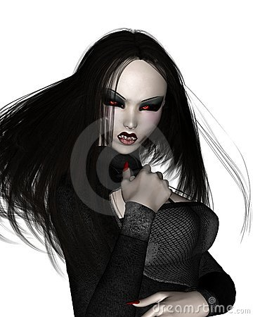 Dark Vampire Stock Images - Image: 6817804