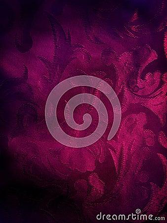 Dark violet fabric background