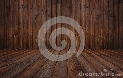 Dark wood texture background, wood wall and floor Stock Photo