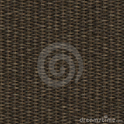 Free Dark Wooden Weave Royalty Free Stock Image - 8626986