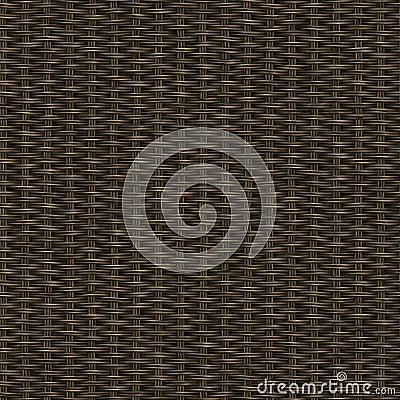 Dark wooden weave