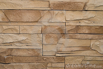 Dark yellow wild stone tiles