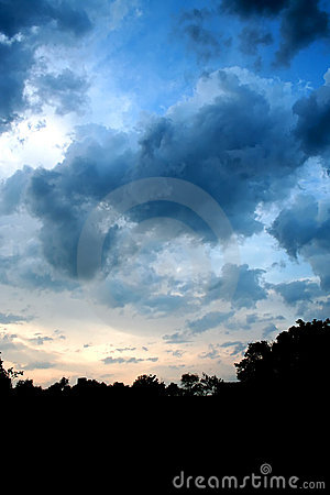 Darkening Sky 1