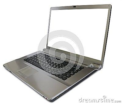 Darkly silver  computer