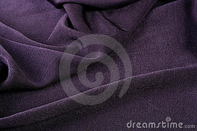 Darkly violet fabric
