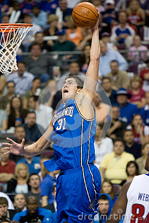 Darko Milicic Dunks The Basketball
