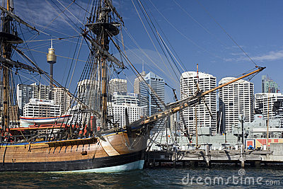 Darling Harbor - Sydney - Australia Editorial Image